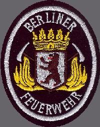 Ausbildung Berliner Feuerwehr. Abzeichen der BF. Foto: Berliner Feuerwehr
