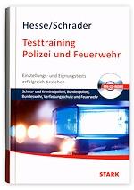 Testtraining Polizei und Feuerwehr.