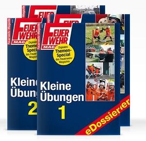 """Feuerwehrübung: Ideen und Beispiele liefern die Themenspecials """"Kleine Übungen"""". Foto: FM"""