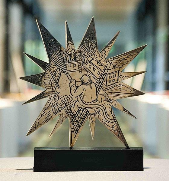 IF-Star: So sieht die Auszeichnung aus. Foto: DFV