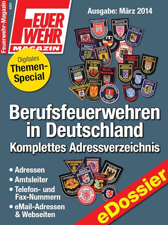 liste der berufsfeuerwehren in deutschland feuerwehr magazin. Black Bedroom Furniture Sets. Home Design Ideas
