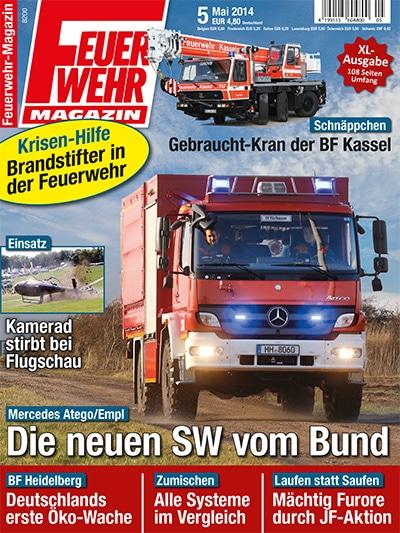Feuerwehr-Magazin 5/2014