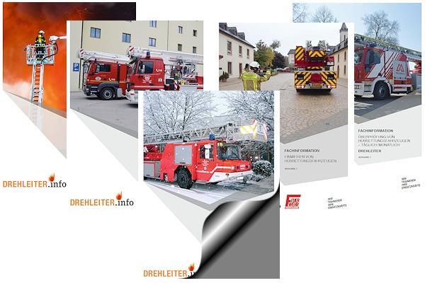 Drehleiter-Ausbildungsunterlagen kostenlos herunterladen. Grafik: Feuerwehr-Magazin