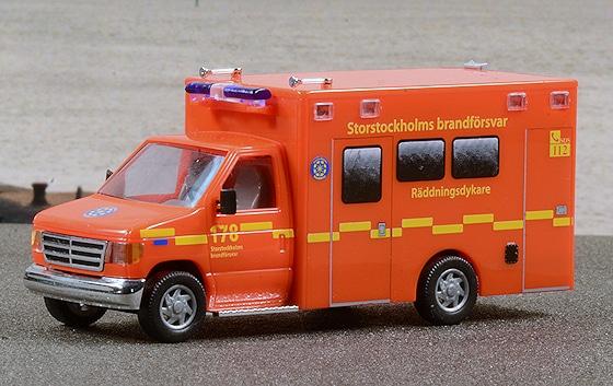 feuerwehr h0 modell stockholm