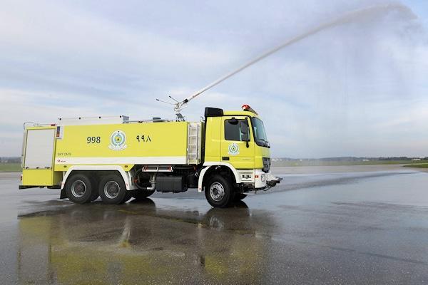 Saudi-Arabien hat bei Rosenbauer 800 weitere Einsatzfahrzeuge bestellt. Foto: Rosenbauer
