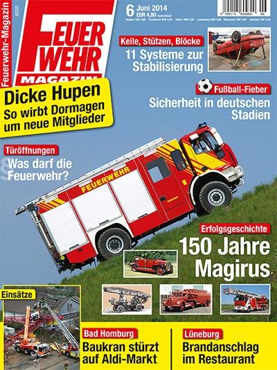 Feuerwehr-Magazin 6/2014