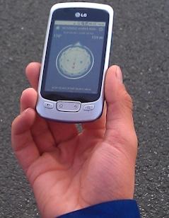 Geocaching mit GPS. Symbolfoto: Feuerwehr-Magazin Archiv