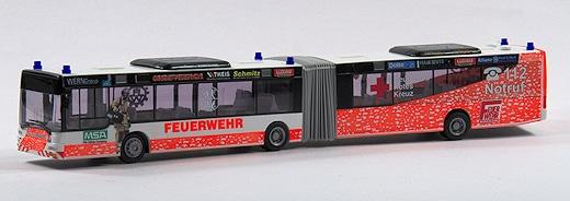 Rettungsbus Modell 1:87