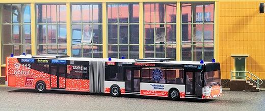 Rettungsbus VWS Siegen als Modell.