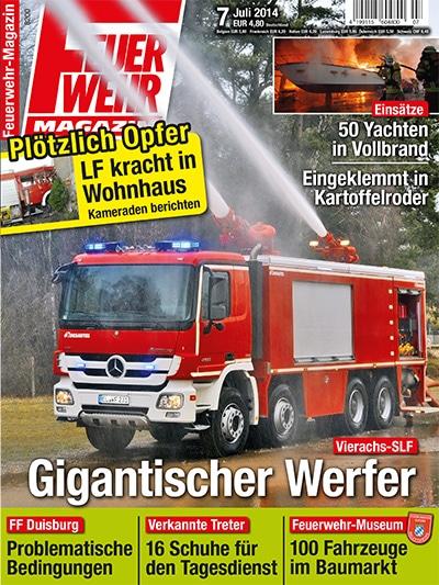Feuerwehr-Magazin 7/2014