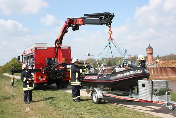 Feuerwehr Torgau. Foto: Patzelt