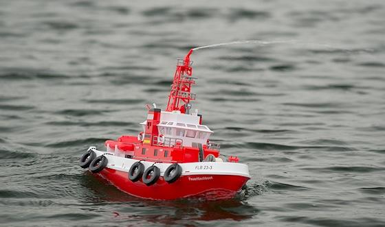 Carson Feuerlöschboot. Foto: Rüffer