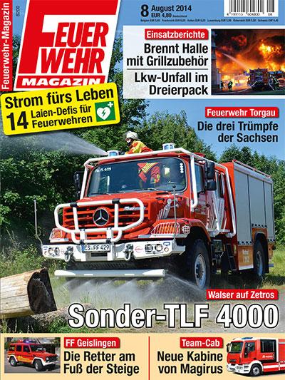 Feuerwehr-Magazin 8/2014