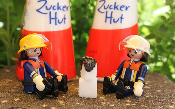 Feuerwehrübung Katalysator. Foto: Dr. Steffen Patzelt