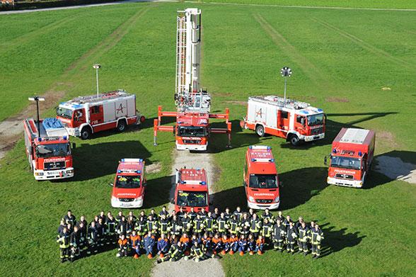 Feuerwehr Erding Altenerding. Foto: A. Müller