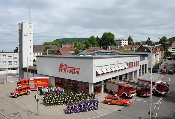 Feuerwehr Geislingen. Foto: Heino Schütte