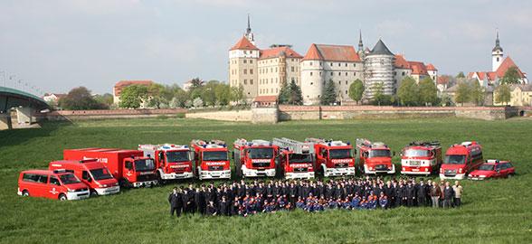 Feuerwehr Torgau. Foto: Christian Patzelt