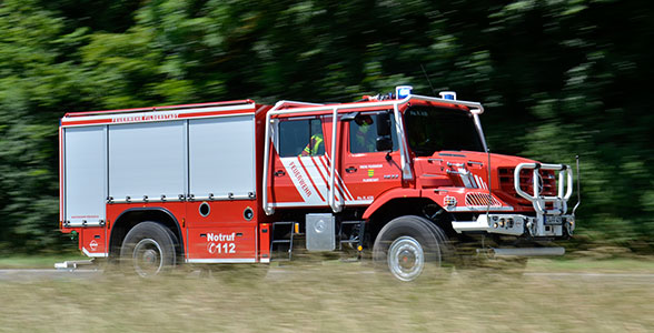Feuerwehr Zetros Filderstadt. Foto: Olaf Preuschoff