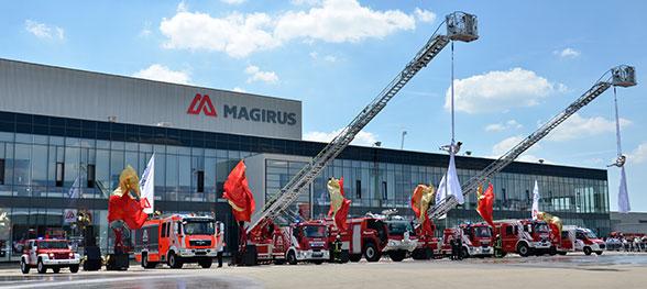 Magirus Feuerwehr 150 Jahre. Foto: Olaf Preuschoff
