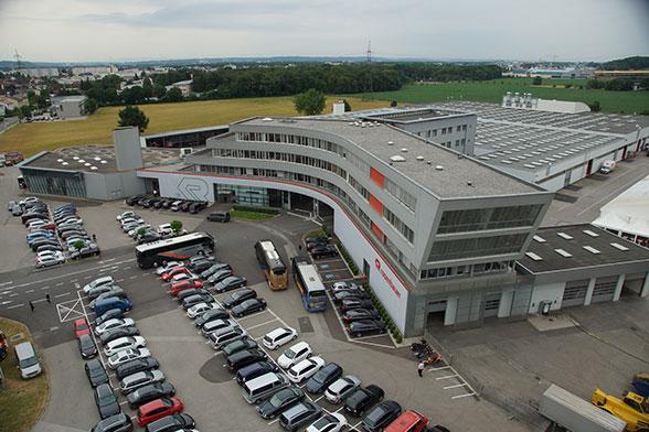 Rosenbauer Werk Leonding. Foto: Hegemann