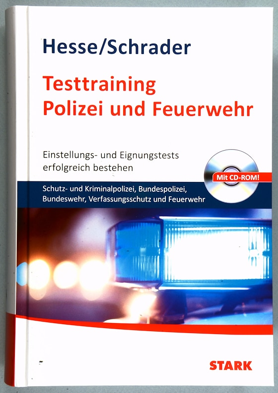 Testtraining Polizei und Feuerwehr