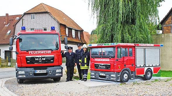 Trafostation Feuerwehr. Foto: Art-EFX