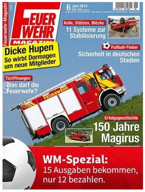 Feuerwehrmagazin Abo