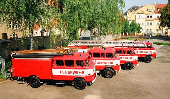 IFA Feuerwehr. Foto: Jäger
