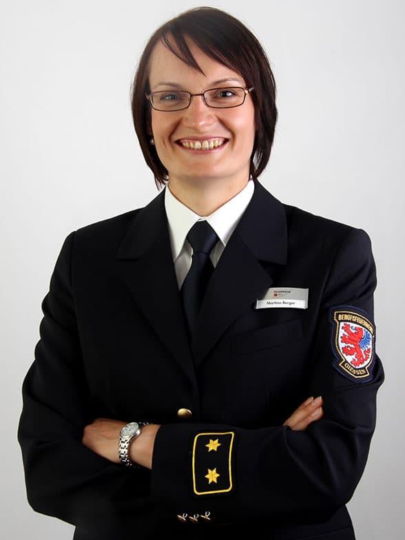 Martina Berger Feuerwehr Gießen. Foto: Feuerwehr Gießen