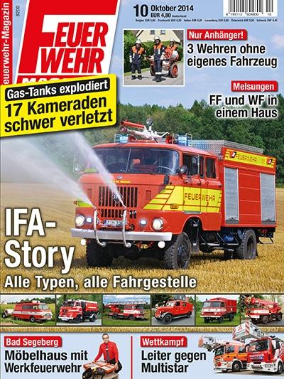 Feuerwehr-Magazin 10/2014
