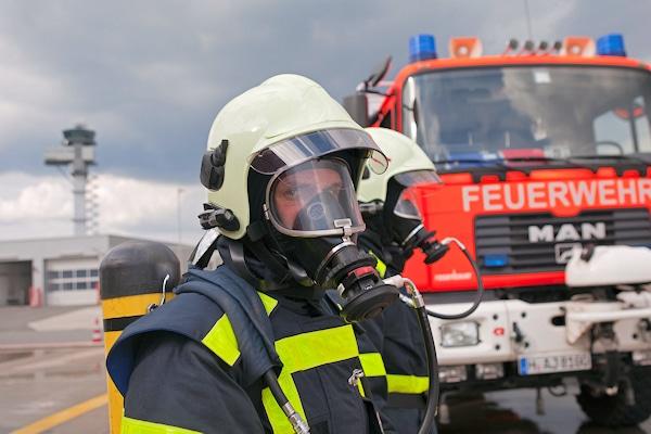 Die Flughafenfeuerwehr Hannover sucht neue Kollegen. Foto: Hannover Airport / Reinecke