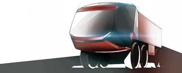 Rosenbauer Panther: Designstudie zur neuen Generation: Foto: Rosenbauer
