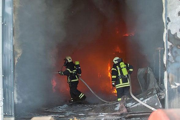 Ethanol in Flammen. Foto: Ruff