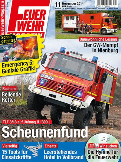 Feuerwehr-Magazin 11/2014