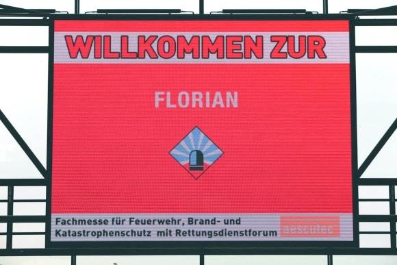 """Am 16. Oktober beginnt in Dresden die Fachmesse """"Florian 2014"""". Symbolfoto: Messe Florian"""