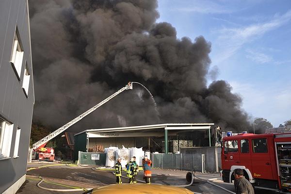 Dieser Brand bei Welzheim verursachte einen Schaden von rund zwei Millionen Euro. Foto: Andreas Rosar