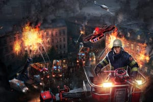 Emergency 5 als Artwork: Viel Action und Spannung erwarten den User in dem Strategiespiel. Foto: Sixteen Tons