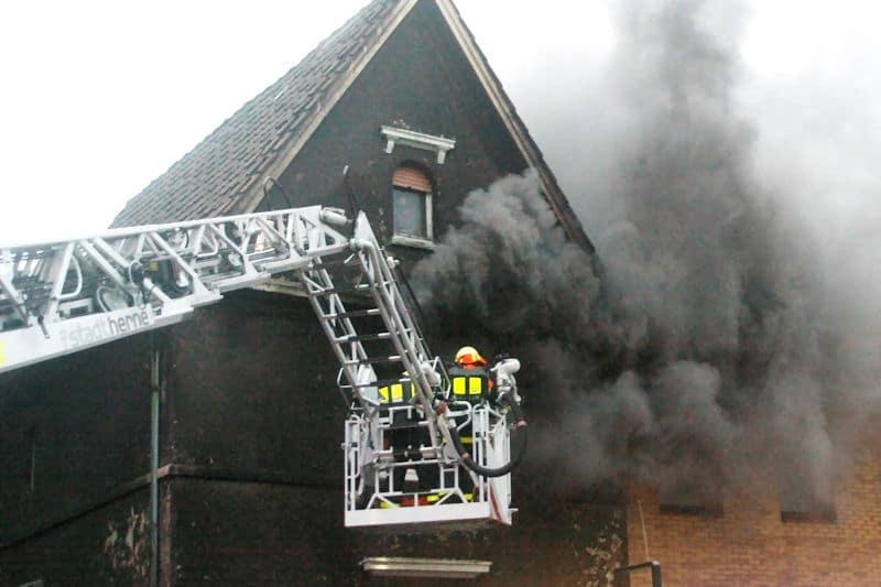Tödlicher Wohnungsbrand in Herne. Foto: KDF-Television & Picture Germany