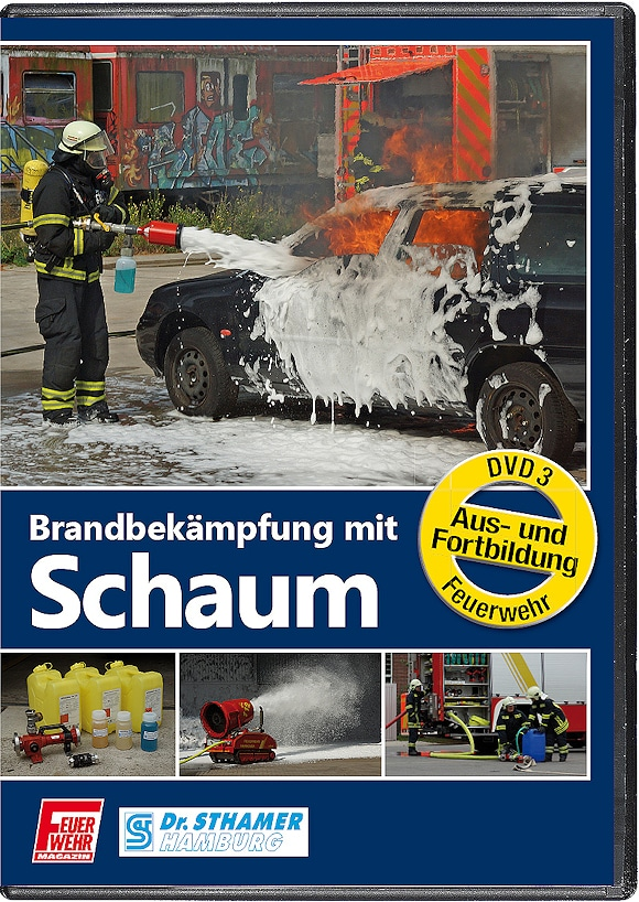 """DVD """"Brandbekämpfung mit Schaum"""""""
