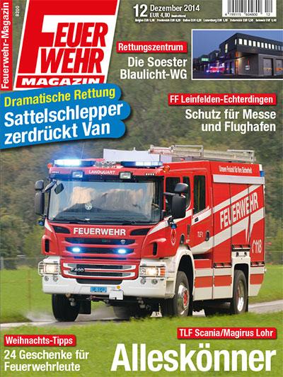 Feuerwehr-Magazin 12/2014