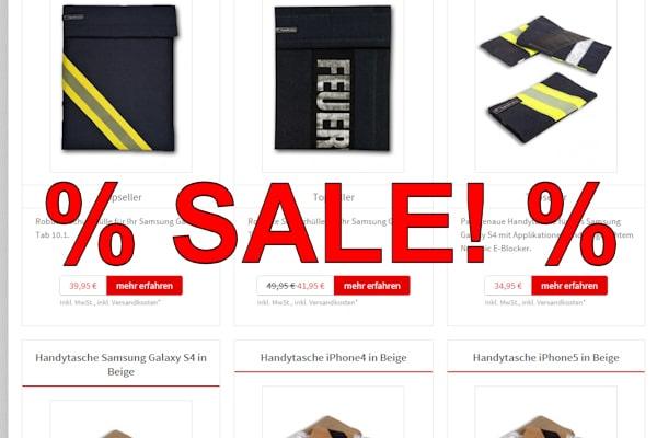 Ausverkauf: Verschiedene Handtaschen gibt es aktuell im Feuerwehr-Magazin-Shop deutlich reduziert!