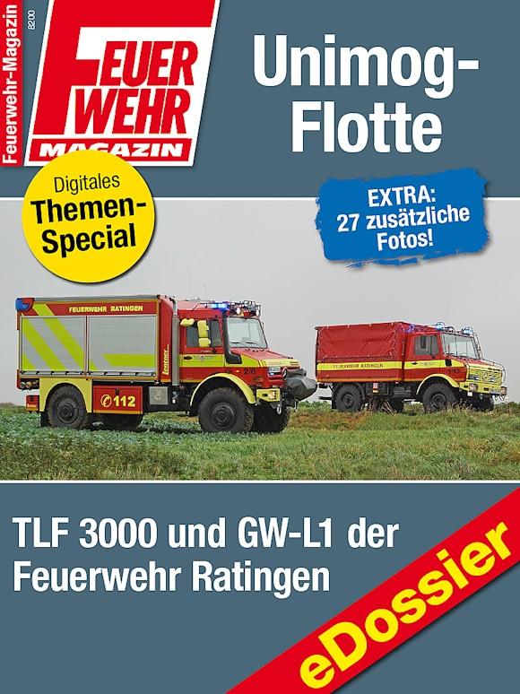 Unimog: Feuerwehr Ratingen besitzt eine Unimog-Flotte.