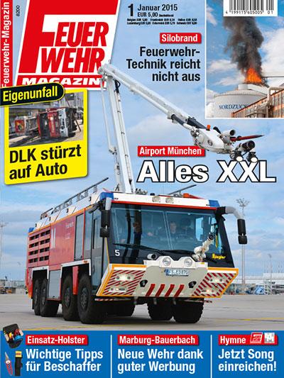 Feuerwehr-Magazin 1/2015
