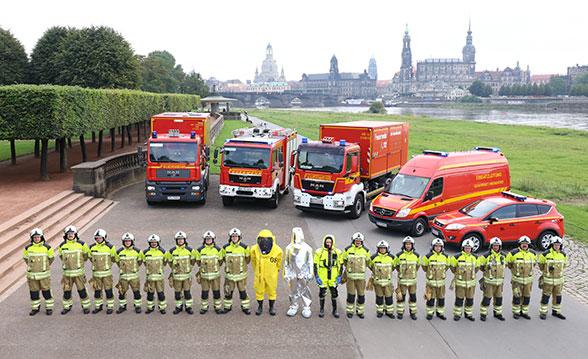 Dresdens Umweltschützer. Foto: Jann