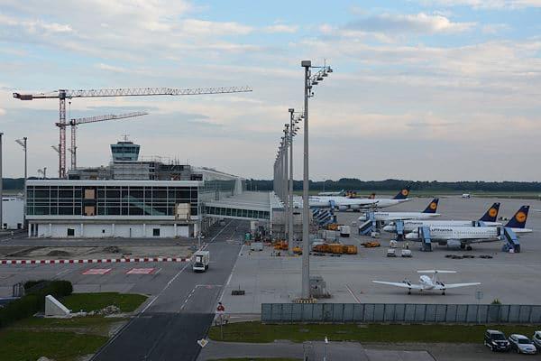 Der Flughafen München wird um ein weiteres Terminal sowie eine Start- und Landebahn erweitert. Foto: A. Müller