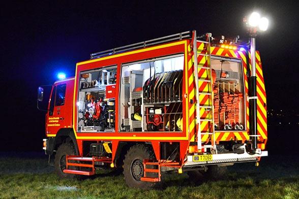 Verjüngungskur. Foto: Feuerwehr