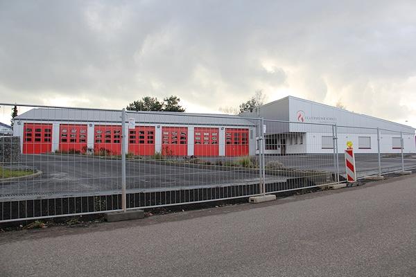 Neues Haus der Feuerwehr Kirkel (Löschbezirk Limbach): ab 2015 nutzbar. Foto: Benkert