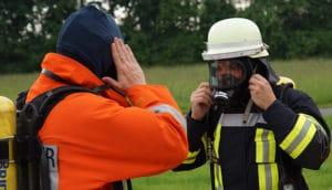 Symbolfoto: Schutzkleidung bei der Feuerwehr. Foto: Hegemann