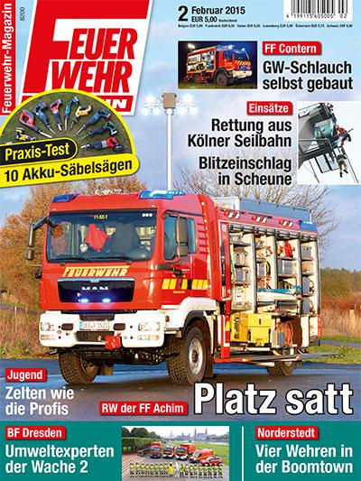 Feuerwehr-Magazin 2/2015