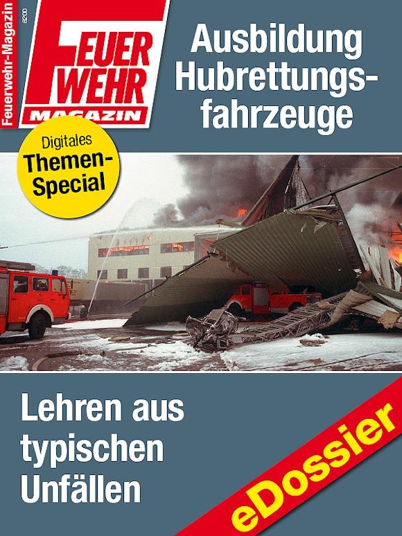 eDossier: Unfälle mit Drehleiter und anderen Hubrettungsfahrzeugen.